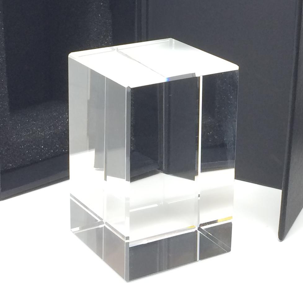 bloc verre gravure