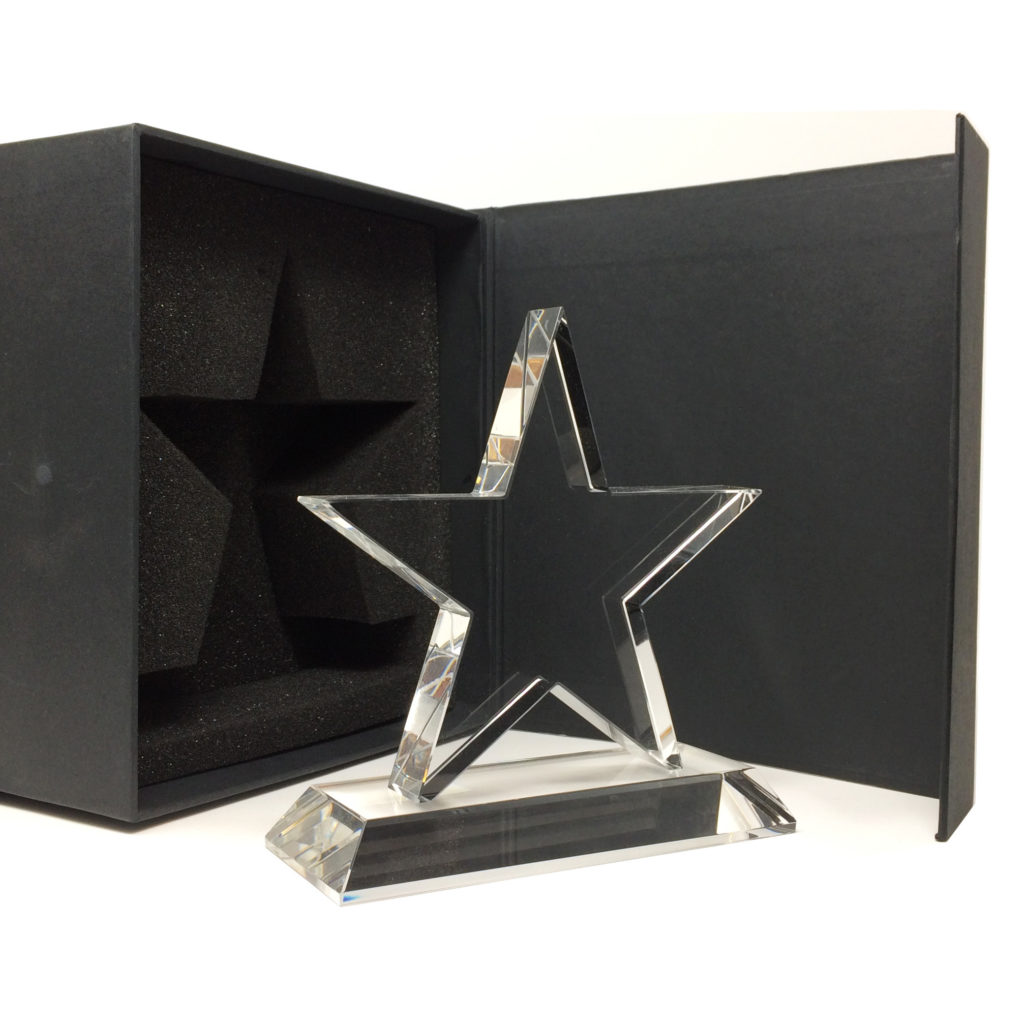 trophée étoile personnalisable