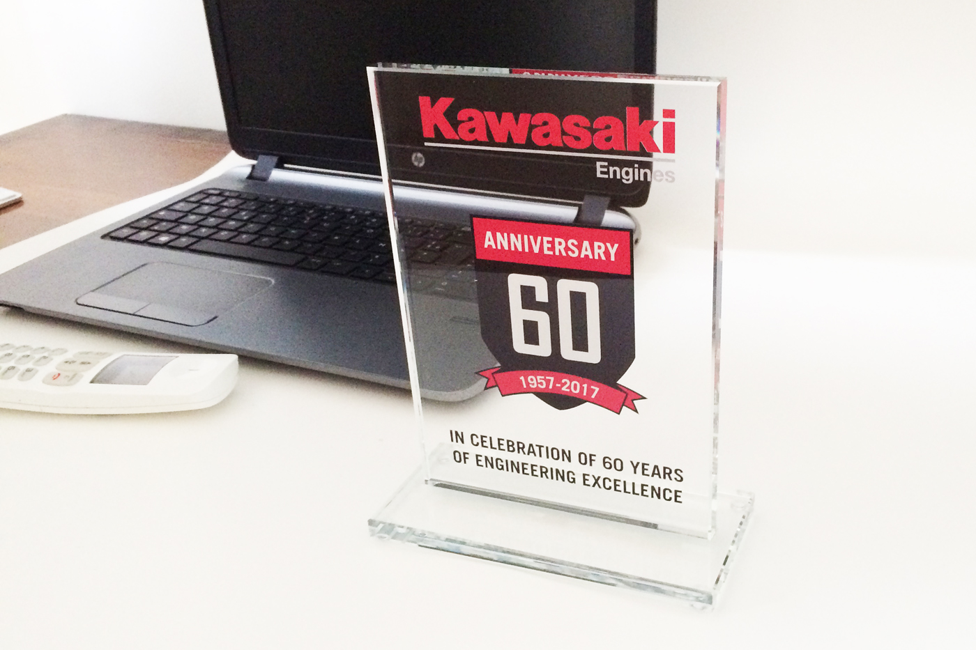 trophées kawasaki couleur