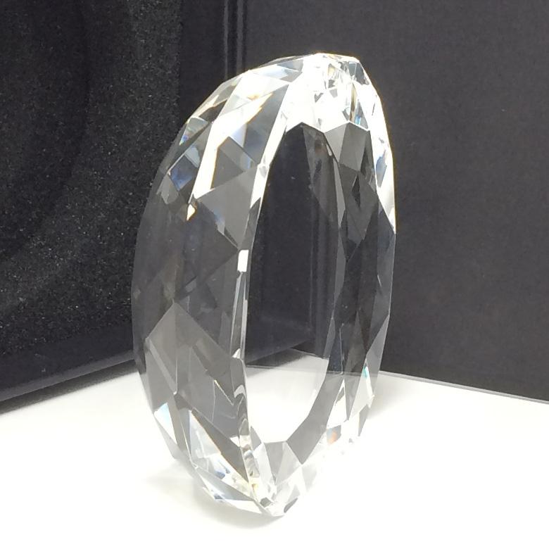 Trophée diamant demi cercle