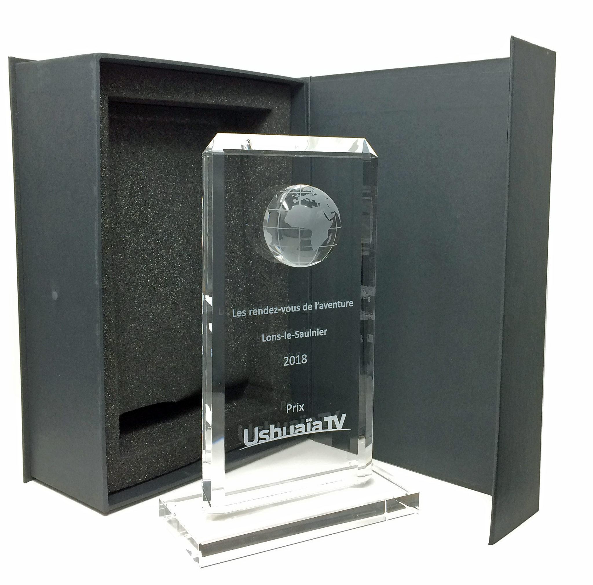 Custom globe award