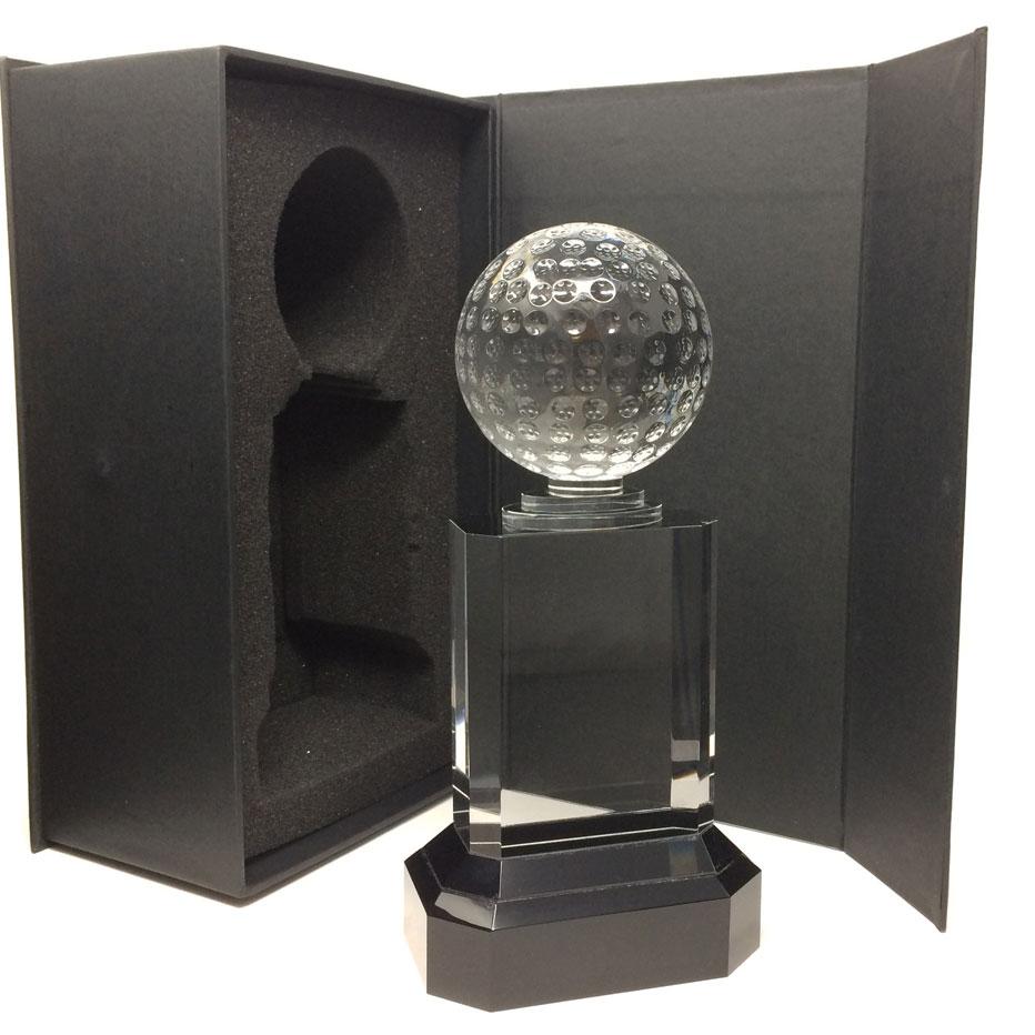 Crystal-glass-golf-trophy