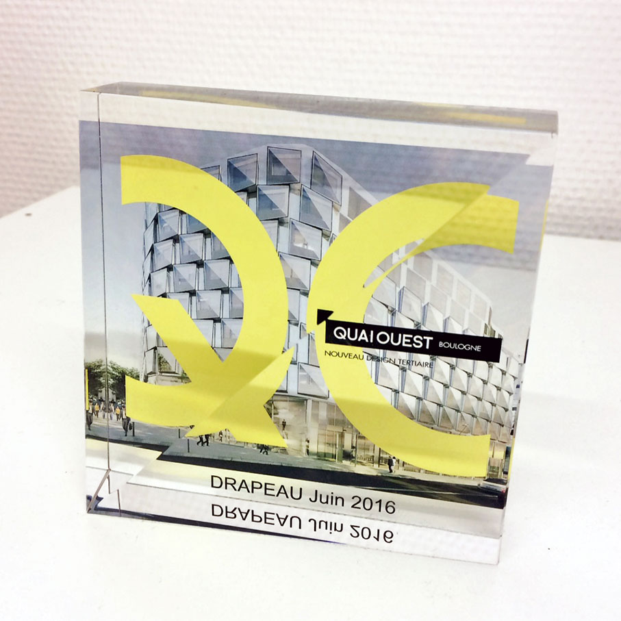 Custom-made-glass-paperweight-award